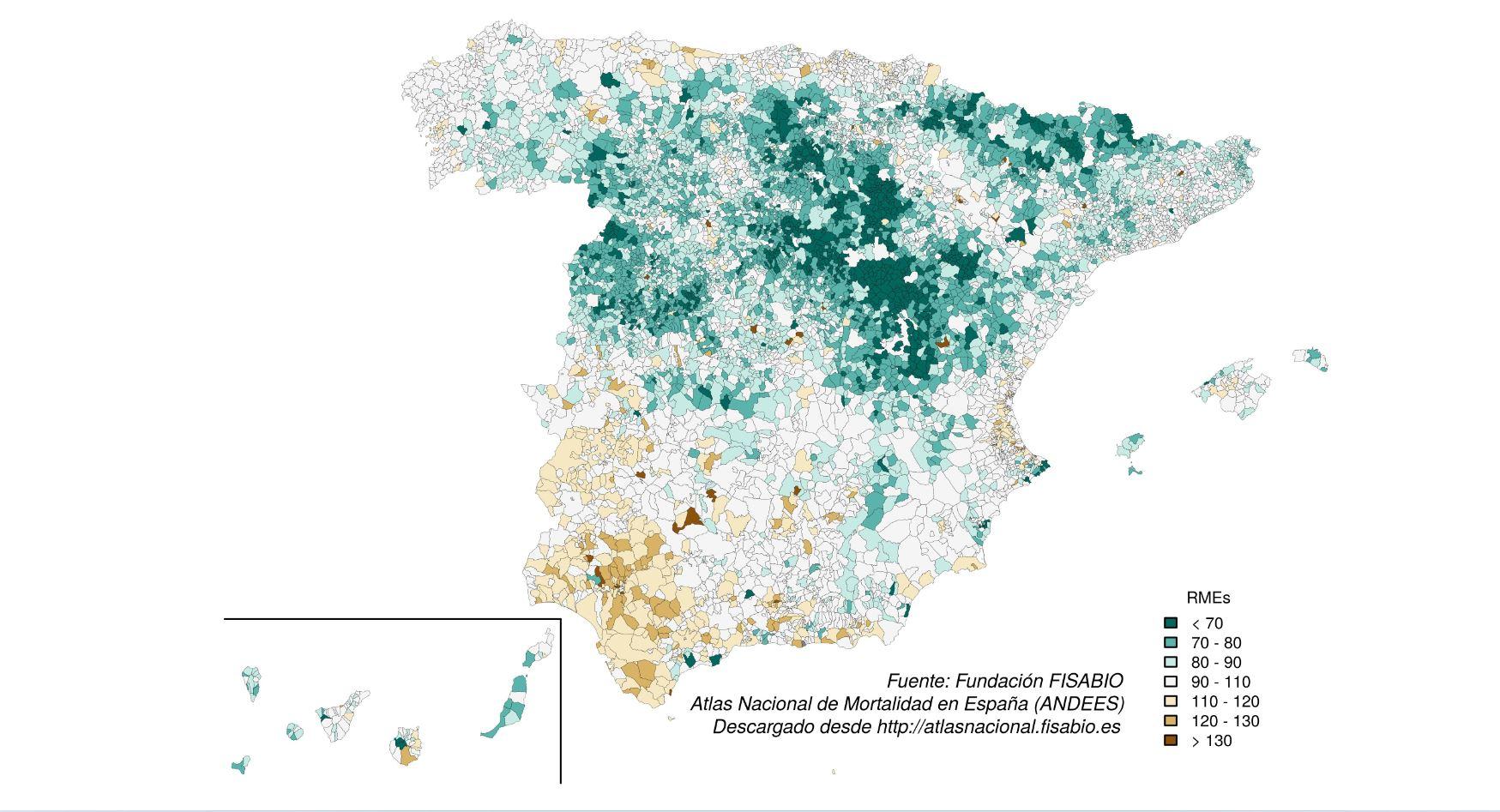 mapa nacional de la sociedad nacional de diabetes